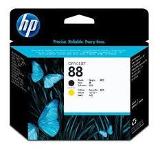 Купить <b>Печатающая головка HP 88</b> C9381A черный/желтый для ...
