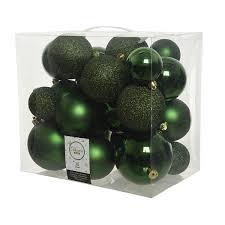 <b>Набор ёлочных игрушек</b> Шары 26 шт., зеленый, <b>10</b>/8/6 см ...