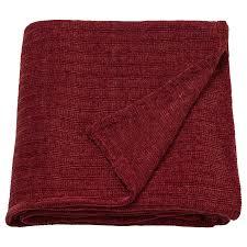 <b>Плед</b>, коричнево-красный 130x170 см <b>IKEA ЮЛВАЛИ</b> 904.473.22 ...