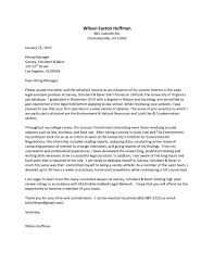 legal cover letter associate mechanical engineering student law firm cover letter