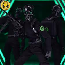 One:12 Collective <b>Black Skulls</b> Death Brigade | Mezco Toyz