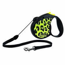 Поводок-<b>рулетка</b> для собак <b>Flexi Leopard Safari</b> S - купить в ...