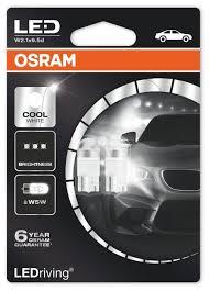 <b>Лампа</b> автомобильная светодиодная <b>Osram</b> Cool White <b>W5W</b> ...