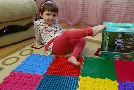 Как сделать <b>массажный коврик с</b> пуговицами для детей своими ...