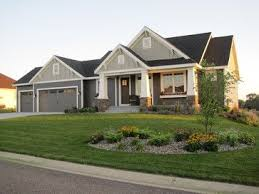 ideas about Rambler House Plans on Pinterest   Rambler House    Craftsman Style Rambler   traditional   exterior   minneapolis   Vision Homes  amp  Remodeling