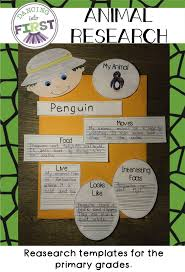 best ideas about report writing information animal research templates for primary grades
