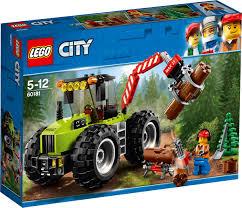 <b>LEGO City Great</b> Vehicles 60181 Лесной трактор <b>Конструктор</b> ...