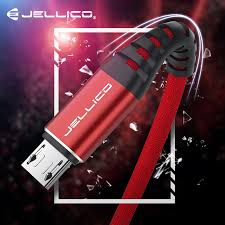 Jellico <b>120CM Micro USB</b> Cable 2.4A Fast Charge Data Cable for ...