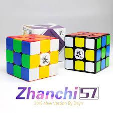 <b>2018 Dayan Zhanchi</b> 3x3 – KhmerCuber.com