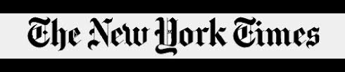 Image result for NY TIMES LOGO