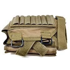 BATTLBOX Adjustable <b>Rifle</b> Cheek <b>Rest</b> with Ammo and Admin <b>Pouch</b>