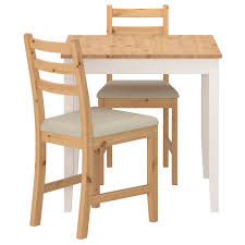 dining room sets ikea: lerhamn table and  chairs light antique stain vittaryd beige length