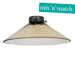 manor 300mm glass coolie shade in amber manor mix n match range amber pendant lighting