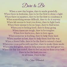 "Dare to Be"" ~ Dr. Steve Maraboli ~ from his book, ""Life, the Truth ... via Relatably.com"