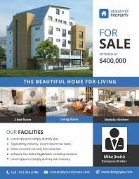 the best  real estate flyer templates for photoshop  real estate psd flyer template