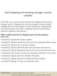 topshippingandreceivingmanagerresumesamples lva app thumbnail jpg cb