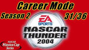 good pit stop but nascar thunder career mode at lowe s nascar thunder 2004 career mode at lowe s season 2 race 31 36