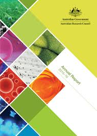 home n research council annual report  front cover of the arc annual report