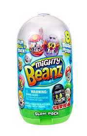 Mighty Bean Flip, Roll 'N Race Slam Pack with Eight ... - Amazon.com
