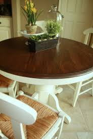 Restaining Kitchen Table 17 Best Images About Table Ideas On Pinterest Stains Refinished