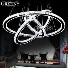 Hot sale Diamond Ring <b>LED Crystal Chandelier Light</b> Modern <b>Lamp</b> ...