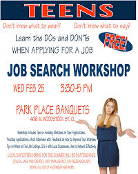 just for teens job search workshop presented by the crystal lake just for teens job search workshop presented by the crystal lake park district barrington courier review