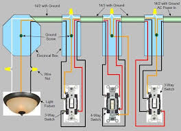 wiring diagram for switch at end of run the wiring diagram 4 way switch installation circuit style 2 wiring diagram