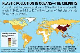 Image result for oceans being choked by plastics