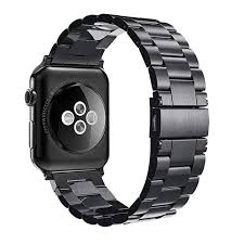 Simpeak <b>Stainless Steel Band Strap</b> Compatible with Apple <b>Watch</b> ...