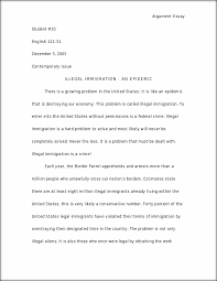 argument essay about illegal immigration writefiction web fc com argument essay about illegal immigration