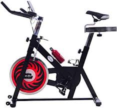 Soozier Indoor <b>Exercise Bike</b> Upright <b>Bicycle with LCD</b> Monitor ...