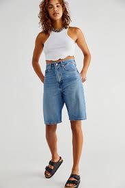 <b>High Loose Bermuda</b> Shorts | Free People