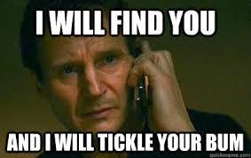 Are you tickilish..... via Relatably.com