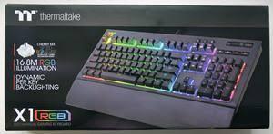 Тест и обзор: <b>Thermaltake Tt</b> Premium X1 RGB - механическая ...