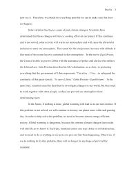 essay about global warming global warming essay