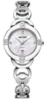 <b>Часы Rhythm</b> L1502S01 L1502S 01 <b>Женские</b> Swarovski ...