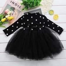 Princess Long sleeve Baby Girl Dress <b>Newborn Infant Baby Girl</b> ...