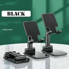 <b>Foldable Metal Universal Phone</b> Holder Desk For iPhone 11 ...