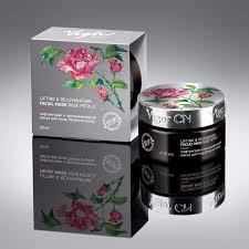 Лифтинговая и <b>омолаживающая маска для</b> лица «Лепестки розы ...