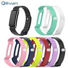 soft silicone replacement wrist band watch strap for huawei band 2 band 2 pro smart watch watchbnad