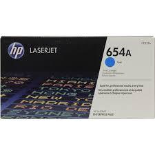 <b>Картридж</b> HP CF331A (№654A) (<b>голубой</b>) <b>Голубой</b> (Cyan ...