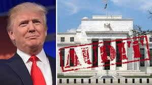 Image result for pictures of trump and the Fed