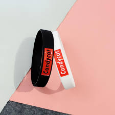 <b>Fashion Simple</b> Letters Sports Men Women Wristband Students ...