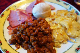 Image result for baked beans on plate