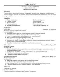work experience resume format work experience resume sample fast food resume examples unforgettable cashier resume examples to restaurant experience resume sample work experience resume