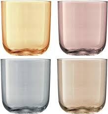 LSA International Metallic Polka Tumbler (4 Pack ... - Amazon.com
