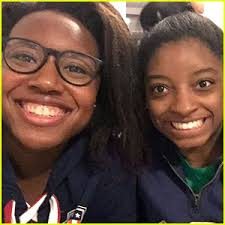 Image result for simone biles and us olympic flag