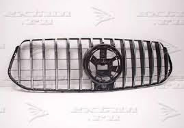 <b>Решетка радиатора GT</b> дизайн на Mercedes GLE V167 хром ...