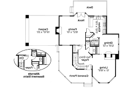 Victorian House Plans   Gibson     Associated Designs    Victorian House Plan   Gibson     st Floor Plan