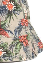 <b>Двухсторонняя панама</b> - Бежевый/Цветы - Мужчины | H&M RU